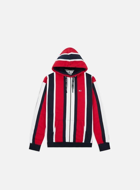 Sale Outlet Hooded Sweatshirts Tommy Hilfiger TJ Vertical Stripe Hoodie