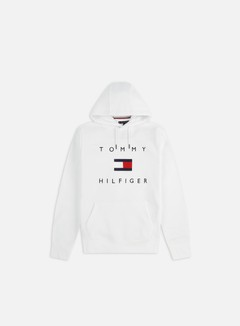 Tommy Hilfiger - Tommy Flag Hilfiger Hoodie, White