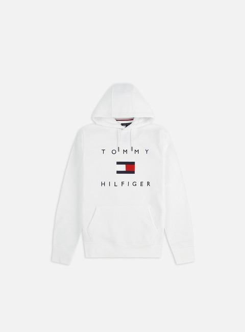 Outlet e Saldi Felpe con Cappuccio Tommy Hilfiger Tommy Flag Hilfiger Hoodie