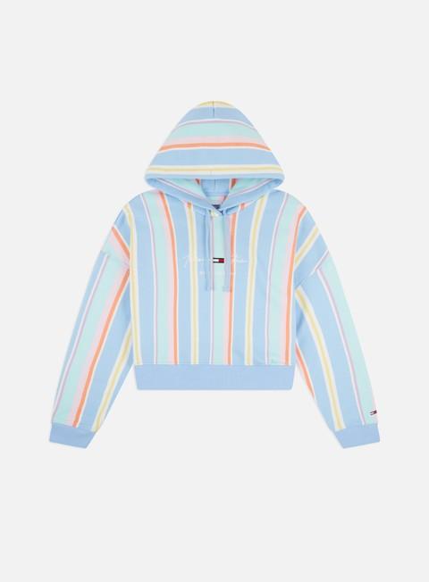 Hooded Sweatshirts Tommy Hilfiger WMNS TJ Stripe Hoodie