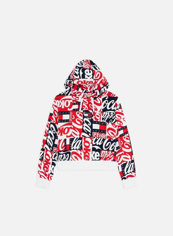 a7f4a207d91 WMNS TJ Tommy x Coca Cola Aop Hoodie
