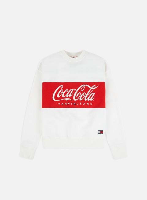 Outlet e Saldi Felpe Girocollo Tommy Hilfiger WMNS TJ Tommy x Coca Cola Crewneck