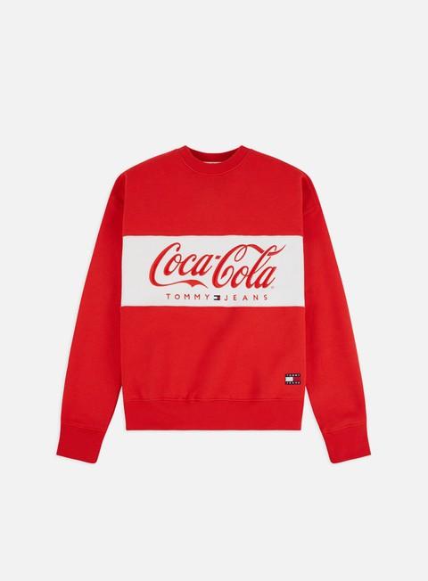 Felpe Girocollo Tommy Hilfiger WMNS TJ Tommy x Coca Cola Crewneck