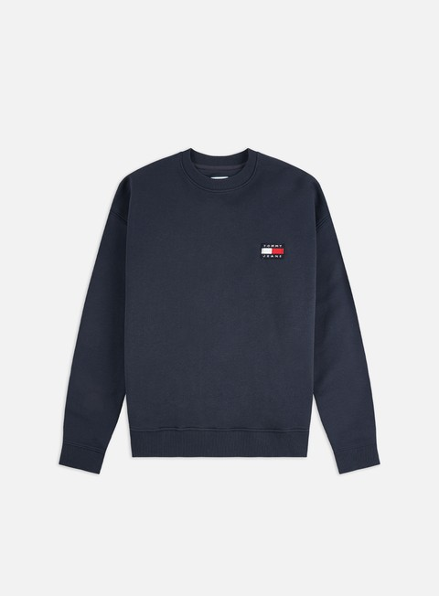 Outlet e Saldi Felpe Girocollo Tommy Hilfiger WMNS Tommy Badge Crewneck