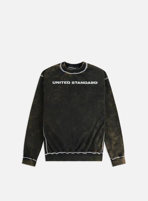 Sale Outlet Crewneck Sweatshirts United Standard Logo Acid Crewneck