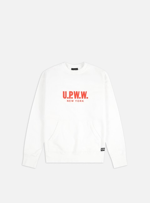 Outlet e Saldi Felpe Girocollo U.P.W.W. Logo Crewneck