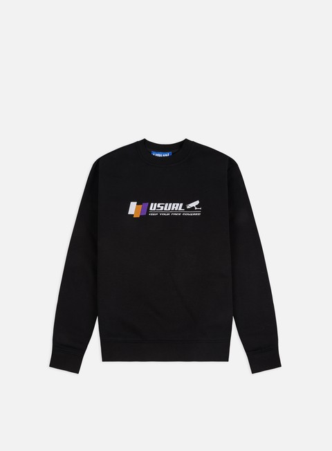 Felpe Girocollo Usual CC TV Crewneck