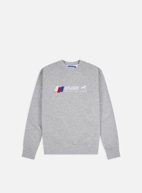 Outlet e Saldi Felpe Girocollo Usual CC TV Crewneck