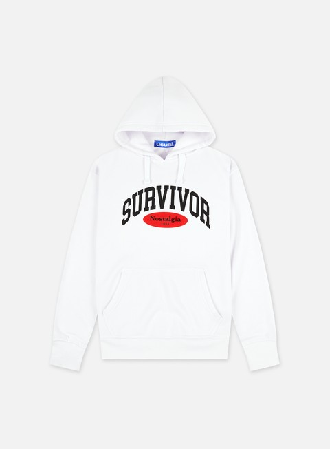 Felpe con Cappuccio Usual Nostalgia Survivor Hoodie