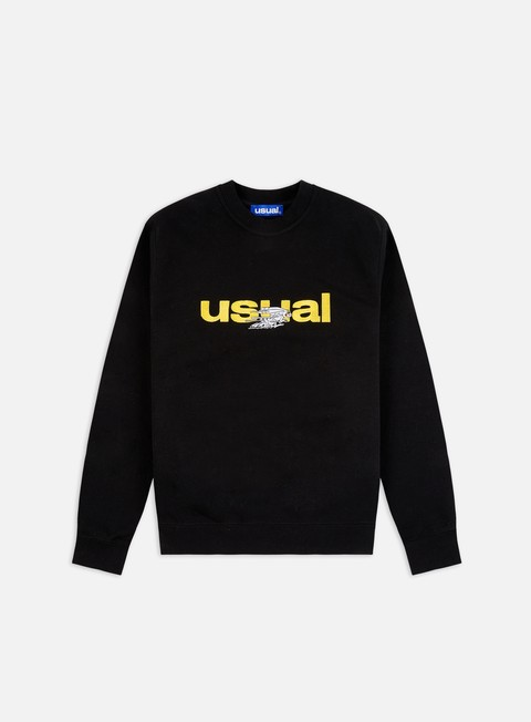 Crewneck Sweatshirts Usual Rabbit Crewneck