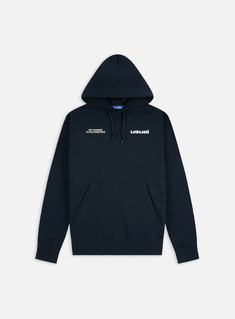 Hooded Sweatshirts Usual U Outline Hoodie