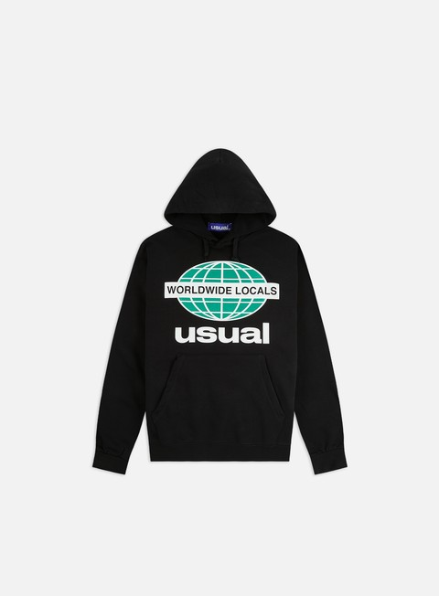 Hooded Sweatshirts Usual Worldwide Locals OG Hoodie