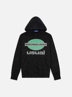 Usual - Worldwide Locals OG Hoodie, Black