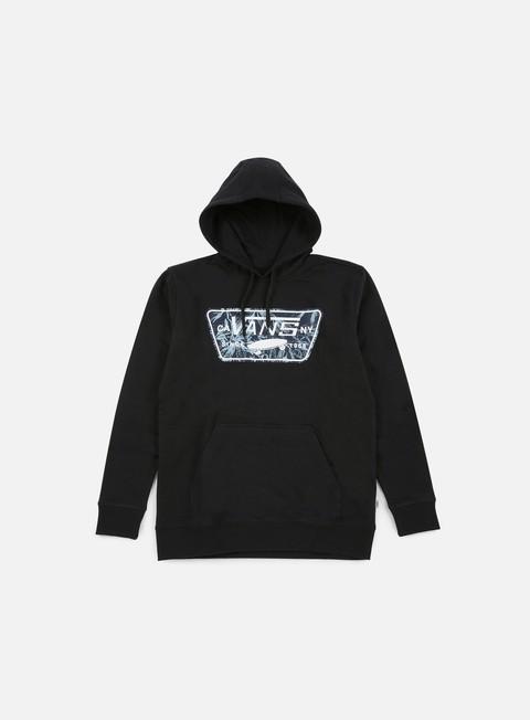 felpe vans bayles hoodie black