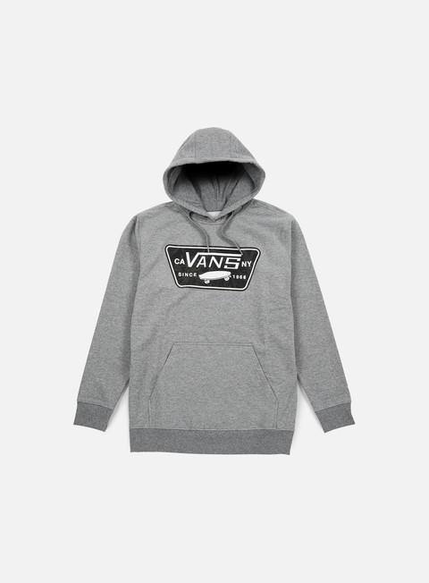 felpe vans bayles hoodie concrete heather