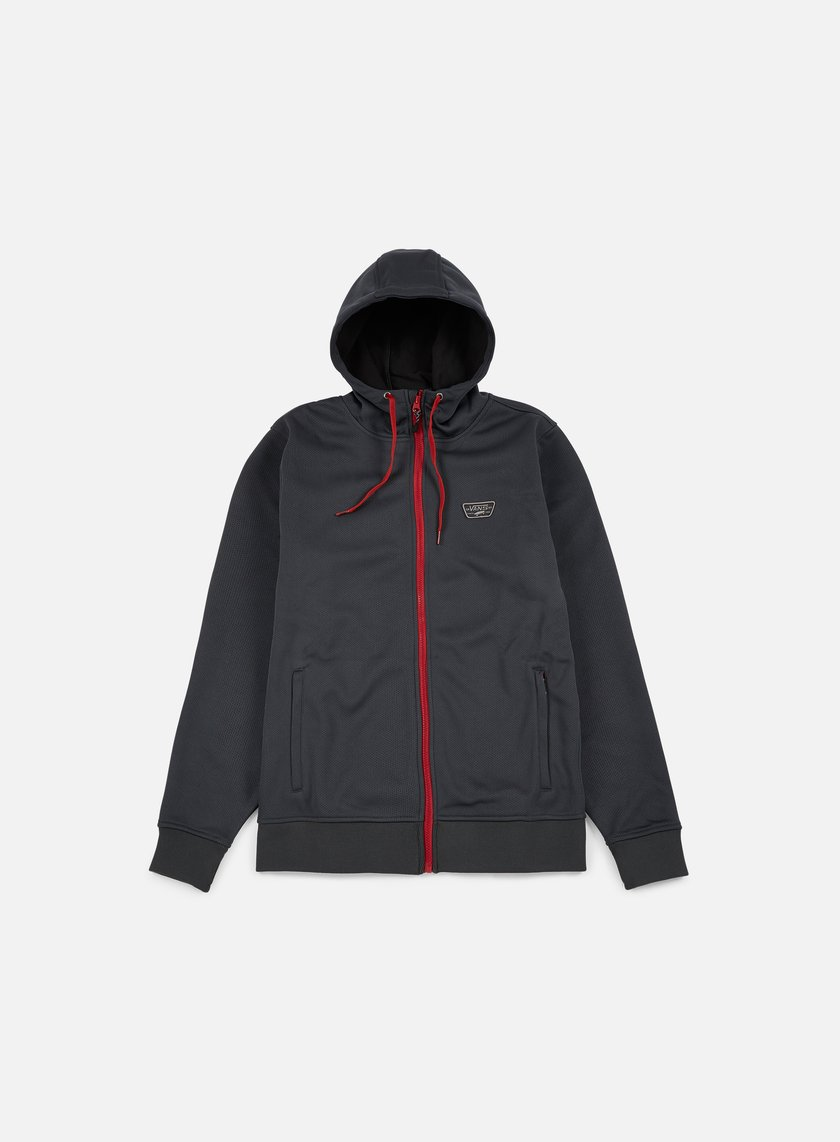 Vans - Brockwell Zip Hoodie, New Charcoal