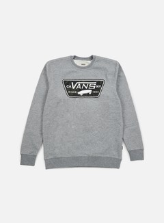 Vans - Burkett Crewneck, Concrete Heather 1