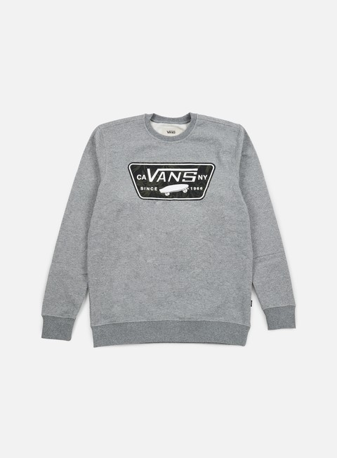 felpe vans burkett crewneck concrete heather