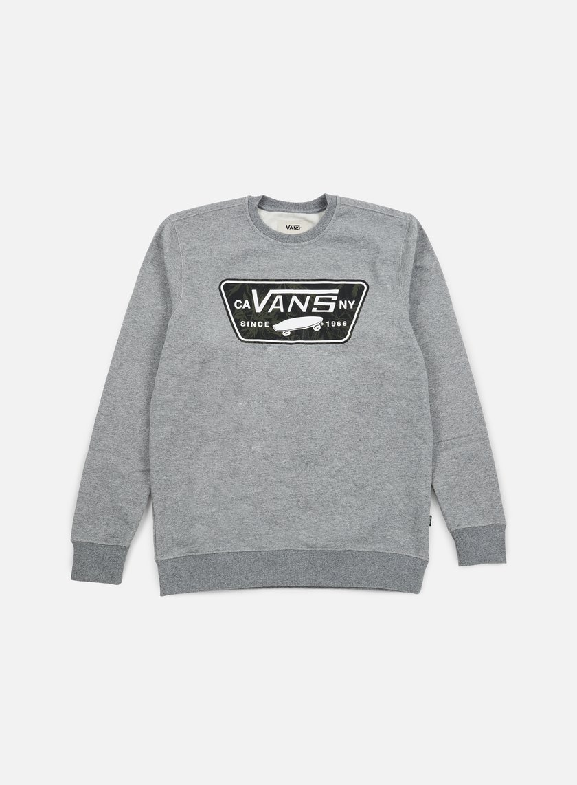 Vans - Burkett Crewneck, Concrete Heather
