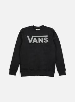 Vans - Classic Crewneck, Black/Frost Grey