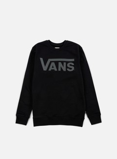 Vans - Classic Crewneck, Black/Pewter