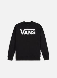 Vans - Classic Crewneck, Black/White