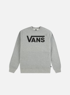 Vans - Classic Crewneck, Concrete Heather/Black 1