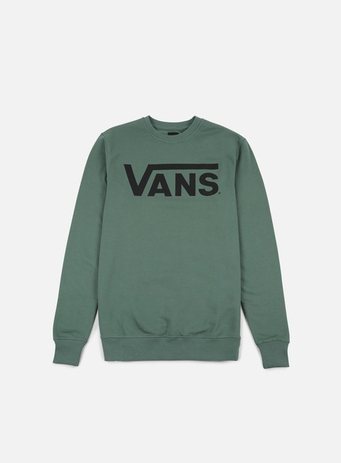 felpe vans classic crewneck dark forest