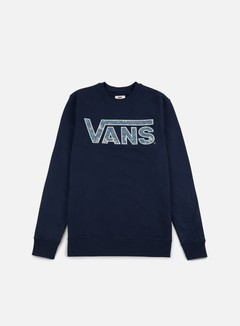 Vans - Classic Crewneck, Dress Blues/Blue Mirage