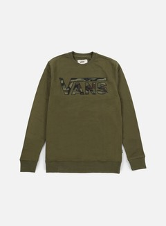 Vans - Classic Crewneck, Grape Leaf Heather/Camo
