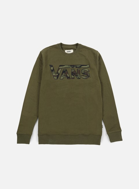 felpe vans classic crewneck grape leaf heather camo