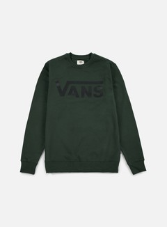 Vans - Classic Crewneck, Green Gables/Black 1