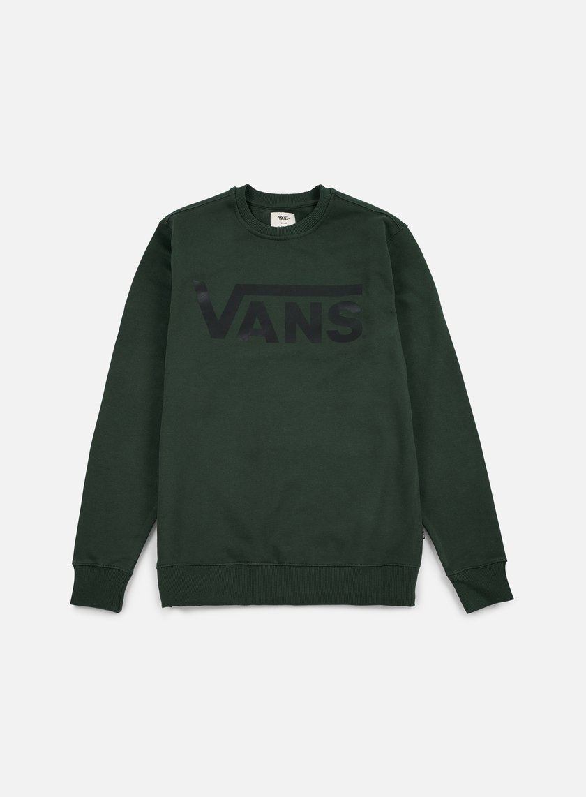 Vans - Classic Crewneck, Green Gables/Black