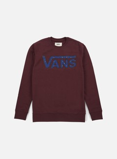 Vans - Classic Crewneck, Port Royale/True Native Ditsy