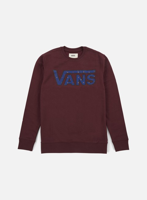 felpe vans classic crewneck port royale true native ditsy