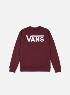 Vans - Classic Crewneck, Port Royale/White