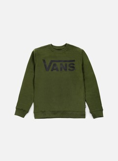 Vans - Classic Crewneck, Rifle Green/Black 1