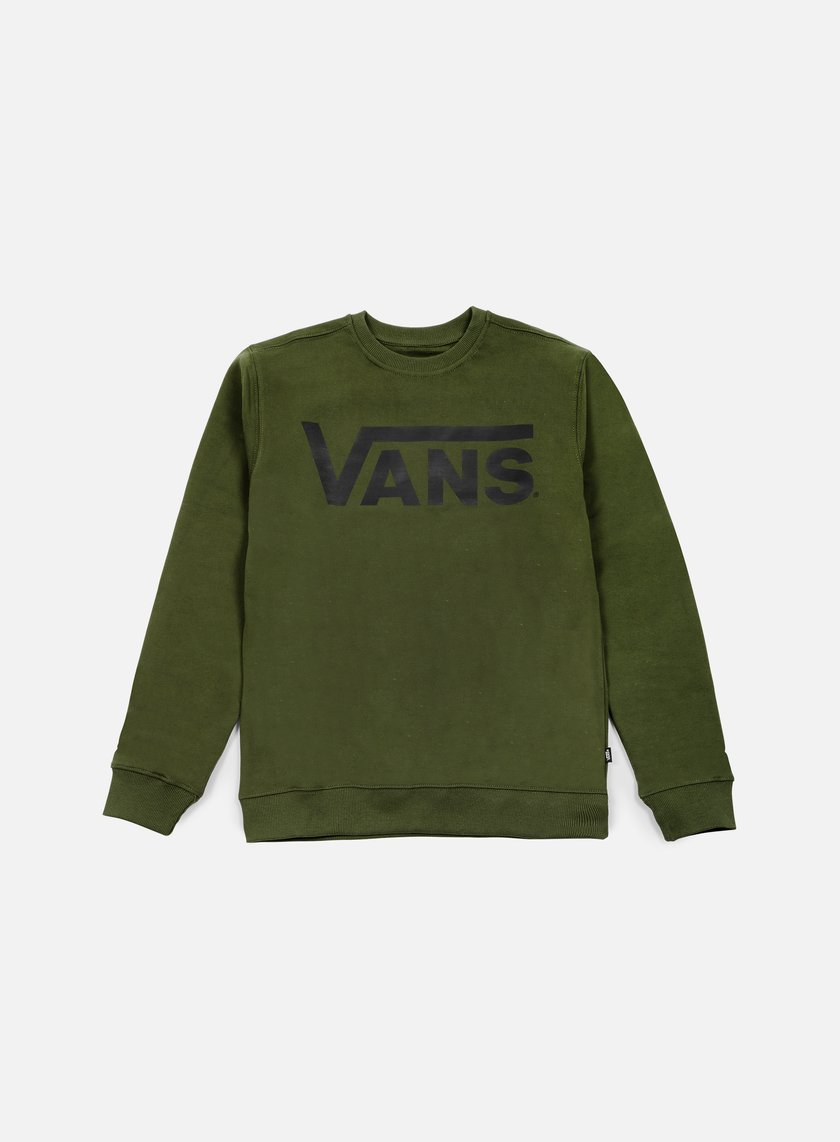 Vans - Classic Crewneck, Rifle Green/Black