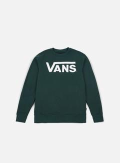 Vans - Classic Crewneck, Vans Scarab/White
