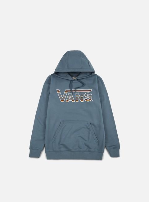 felpe vans classic hoodie blue mirage blue mirage