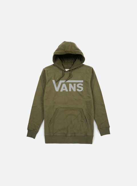 felpe vans classic hoodie grape leaf heather frost grey