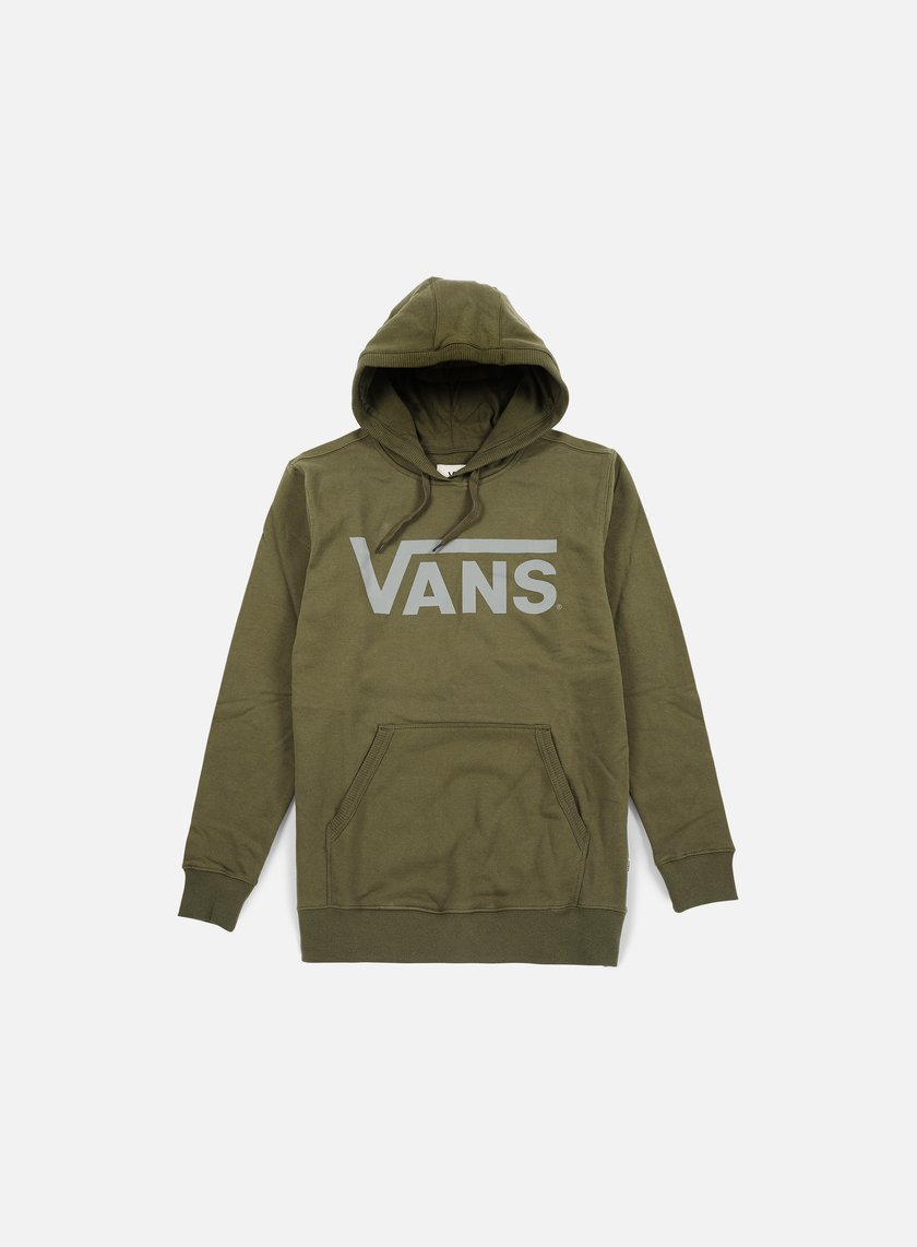 Vans - Classic Hoodie, Grape Leaf Heather/Frost Grey