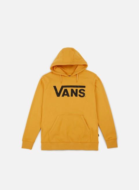 felpe vans classic hoodie mineral yellow black