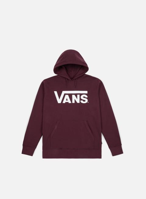 felpe vans classic hoodie port royale white