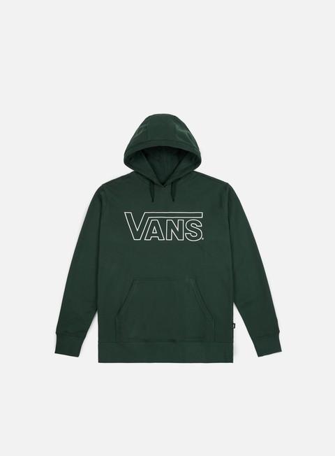 felpe vans classic hoodie vans scarab white
