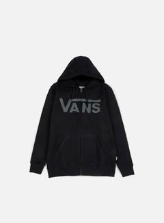 Vans - Classic Zip Hoodie, Black/Pewter
