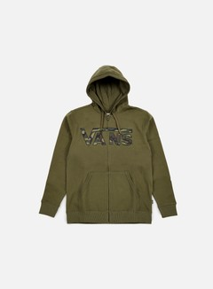 Vans - Classic Zip Hoodie, Grape Leaf/Camo 1