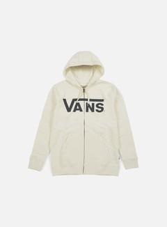 Vans - Classic Zip Hoodie, Marshmallow/New Charcoal