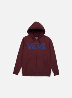 Vans - Classic Zip Hoodie, Port Royale/Dress Blues