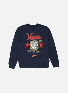 Vans - Cold One Crewneck, Dress Blues 1